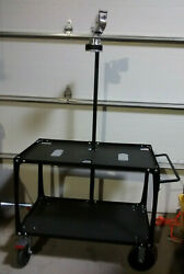 Southwire Uc-100 Simpull Coilpak Payoff And Utility Cart Black Steel Unassembled