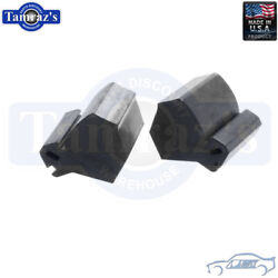 68-70 Charger Hood Side Front Corner Rubber Bumpers Usa Made Soffseal