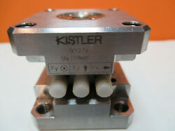 Kistler Swiss Triaxial Load Cell Force Sensor 9327a As Pictured Ft-5-83