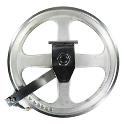 Biro Meat Saw Upper Wheel Fully Assembled With Hinge Plate For Models 33 And