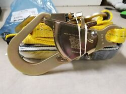 Reliance 741206 Lanyard Safety Twin Fixed W/ Swan Hook, New Old Stock
