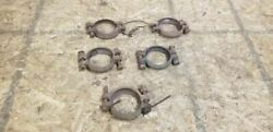 1928-31 Ford Model A Exhaust Clamps Sold As Individual Sets