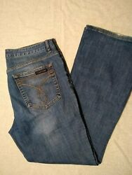 Womens Calvin Klein Flare Mid Rise Jeans Size 12 $18.00
