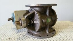 Rotaval Hder 250 Rotary Feeder, 9 Rotor Diameter, 8 Blades, With Reducer, 8733