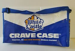 White Castle Crave Case Insulated Caddy Beach Bag Tote. LIMITED EDITION. NEW. $19.99