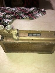 Harrison Radiator Division Aircraft Oil Cooler Assembly Allison Piper Aircraft
