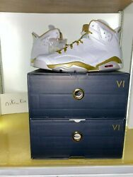 Air Jordan 6 Vi Golden Moments Package