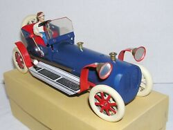Tucher Walther T-180 Tin Toy Race Car Lever Action Limited 197/500 Germany