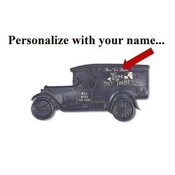 Wine Taster Personalized Model T Truck Sign Vintage Auto Plaque Occupational