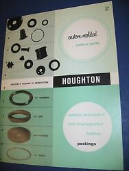 E F Houghton And Co. 1960andrsquos Catalog Asbestos Packing