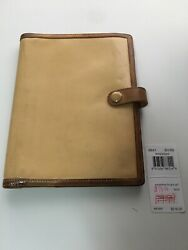 Coach Leather Notebook  Planner  6.5