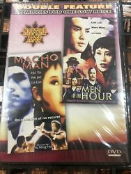 Double Feature Martial Arts Macho Man And Men Of The Hour Dvd
