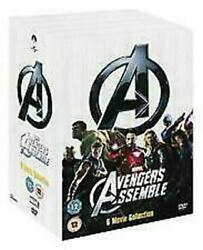 Marvels The Avengers 6 Movie Collection Dvd 6-disc Very Good Condition T787