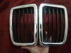 Nos Genuine Bmw E23 Kidney Grill Facelift Late Type Has Small Scratches