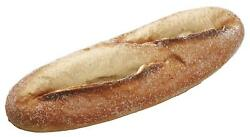 Allstate Artificial French Baguette Bread Loaf 11 Inches Long x 3 Inches Wide $23.99