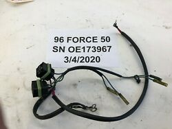 Force Mercury Outboard 50hp Trim Tilt Relay Wire Harness 84-819514a10 Freshwater