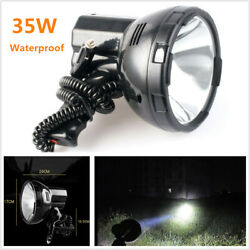 Waterproof 35w Hand-held Xenon Hid Search Spot Light Fishing Boat Camp 12v Car