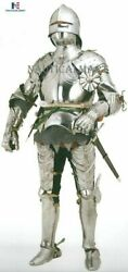 Suit Of Armor German With Free Gothic Halloween Costume Collectible Medieval