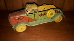 Matarazzo Vintage Toys Truck Wind Up Made In Argentina 1930