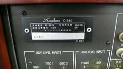 Accuphase C-240 Used Pre Amplifier Amp For Audio C240 [2-334