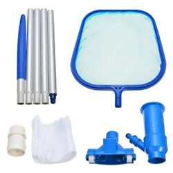 Swimming Pool Vacuum Cleaning Tool Set Suction Head Cleaning Net Kit Accessories