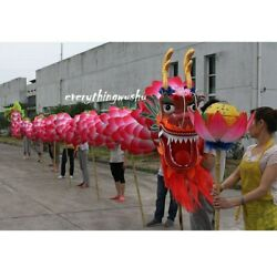 Lotus 18m 10 Adults Dragon Dance Equipment Wushu Dragon Dancing Costume