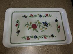 Villeroy And Boch Italy Persia Large Floral Serving 19 Tray Melamine Plastic