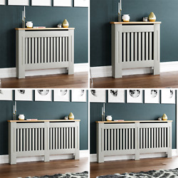 Arlington Radiator Cover Grey Traditional Modern Cabinet Wood Grill Furniture