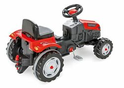 Pilsan Active Pedal Operated Tractor Red/black