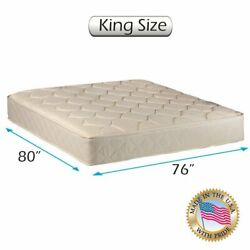 Comfort Classic Gentle Firm Double-sided King Size 76x80x9 Mattress Only