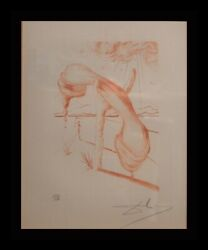 Dali Album Soft Telephone Hand Signed Numbered Etching Dali Archives Certified