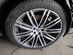 15 16 Porsche Macan Oem Stock Wheel 21x9 Alloy 20 Spoke W/center Cap