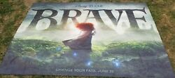 2011 Brave Disney Movie Big Huge Theater Vinyl Banner 12and039 X 8and039 Change Your Fate
