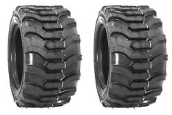 Two 18x8.50-10 Lug Traction Lawn Tractor Tires 18 8.50 10 R-4 Lawn Mower