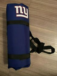 New York Giants Nfl Football Seat Cover Cushion And Stickers