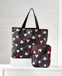 Disney Tote Crossbody Hand Bag Purse MICKEY MOUSE or Minnie Mouse Set $29.99