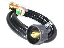Replacement 6 Ft Propane Tank Hose With Gauge -leak Detector For Gas Grill 5th