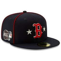 NEW ERA MLB Boston Red Sox 59FIFTY ASG All Star Game patch Hat Cap Navy Fitted