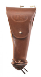 Us Ww1 M1916 Colt 1911 .45 Holster Marked Jtandl 1917 Premium Drum Dyed Leather