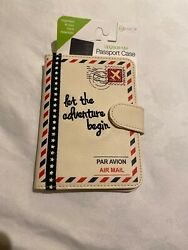 Passport cover case with design -Brand New