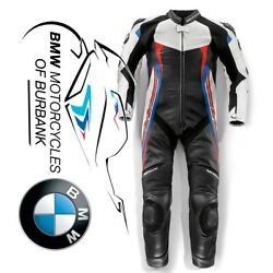 Doubler Suit White | Blue | Red Men's Genuine Bmw Motorcycle Ride Eu 48 | Usa 38