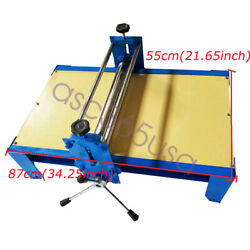8755cm Art Ceramic Clay Plate Machine Slab Roller For Clay Adjustable Durable