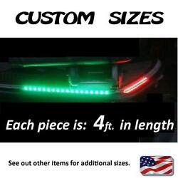 4and039 2x Boat Navigation Led Lighting Red And Green Waterproof Marine Led Strips
