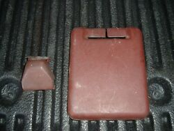 Used 1987 Mazda B2000 Seat Belt Upper And Lowers Covers Lh Maroon