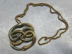 Large Bronze Auryn Gold and Silver Two Tone Replica from The Neverending Story $49.95