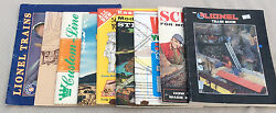 Lot Of Old Model Train Books And Calendar-lionel,layouts,wiring,scenery
