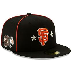 NEW ERA MLB SF San Francisco Giants 59FIFTY ASG All Star Game patch Hat Cap