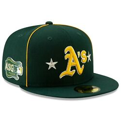 NEW ERA MLB Oakland Athletics 59FIFTY ASG All Star Game patch Hat Cap Fitted