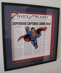 Superman Daily Planet Limited Warner Bros. Studio Store Gallery Exclusive 305