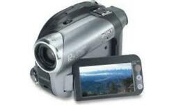 Boxed Sony Dcr-dvd203 Ntsc 1mp Dvd Handycam Camcorder 12x Optical Zoom - Video T
